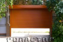Роллетные ворота 7