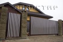 Откатные ворота 17