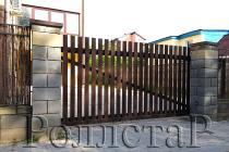 Откатные ворота ADS400 решетка