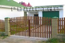 Распашные ворота 6