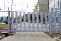 Откатные ворота решетки